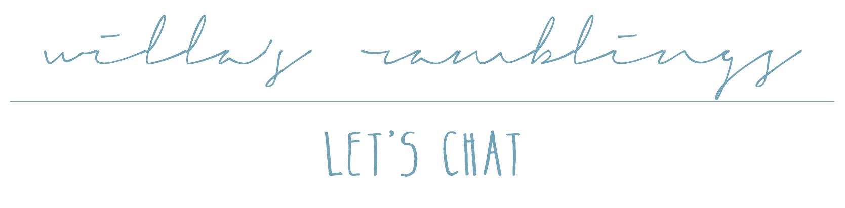 let's chat header