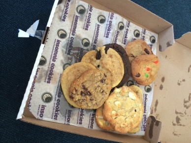 Insomnia Cookies, my friends
