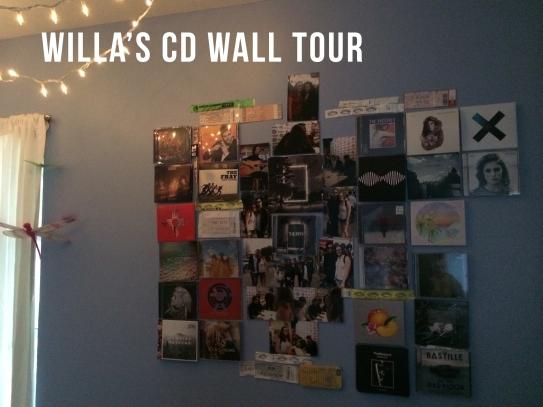 cd wall tour